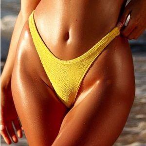 BOUND by Bond-Eye The Sinner Yellow Bikini Bottom